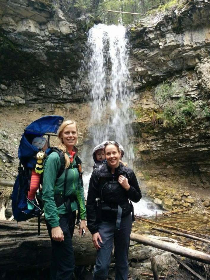 Mountain Mommas Hiking Group, Troll Falls, Kananaskis Country