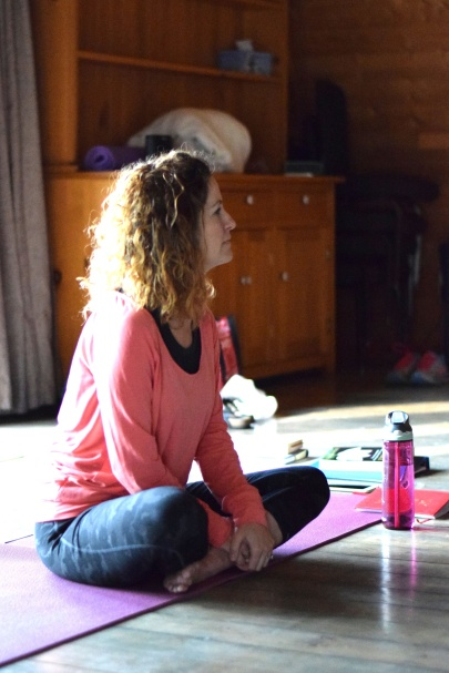 Our yoga guide and goddess, Tamie Murphy